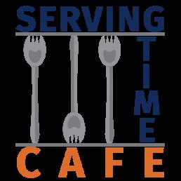 Serving time cafe logo