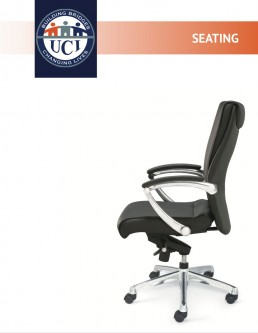 Cover of seating catalog.